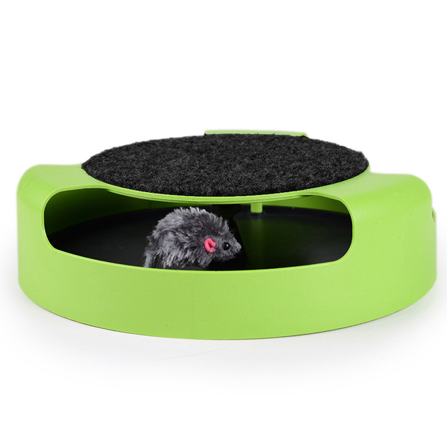 Cat Toy With Moving Mouse Inside