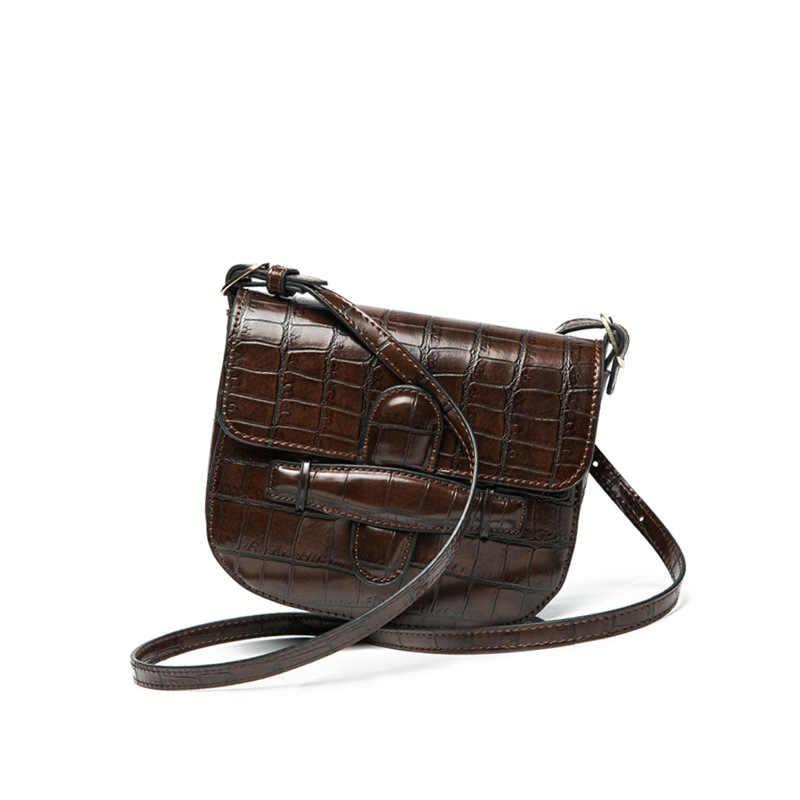 Седельная сумка женский животных печати из кожи аллигатора Сумка Для женщин Винтаж сумки груди Элитный бренд Курьерские сумки Bolsos Mujer