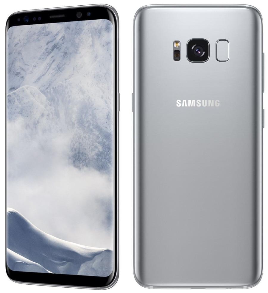 Refurbished Samsung Galaxy S8  64GB ROM+4GB RAM, 3500mAh,12+8MP, 5.8Inch  Dual sim Smartphone silver dual sim 9