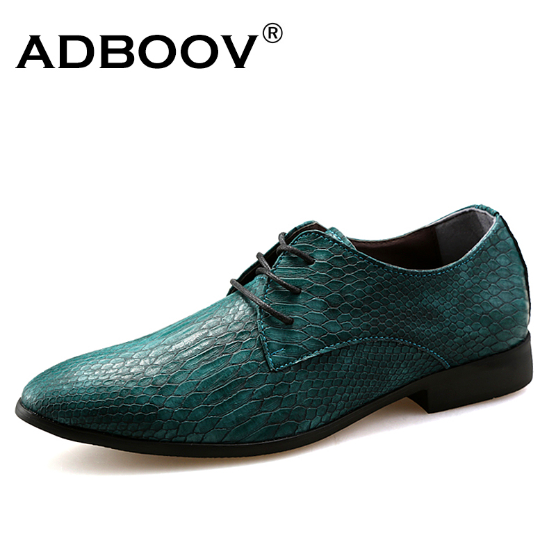 snake skin patter mens leather shoes snake-grain pattern party shoes for man green orange wine red casual cobra derba hot shoes per se two tone snake skin pants