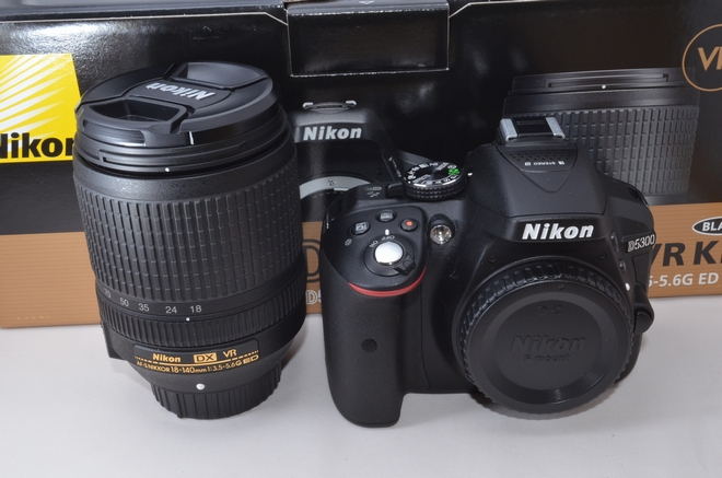 Nikon D5300 DSLR Camera Body & Nikon AF-P 18-140mm Lens KIT