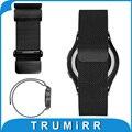 20mm milanese laço cinta faixa de relógio de aço inoxidável pulseira para samsung gear s2 classic (SM-R7320) moto 360 2 2nd gen 42 m 2015