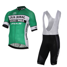 2017 team caja rural cycling jerseys summer bike clothing quick dry MTB road Ropa Ciclismo Bicycle maillot gel bib shorts