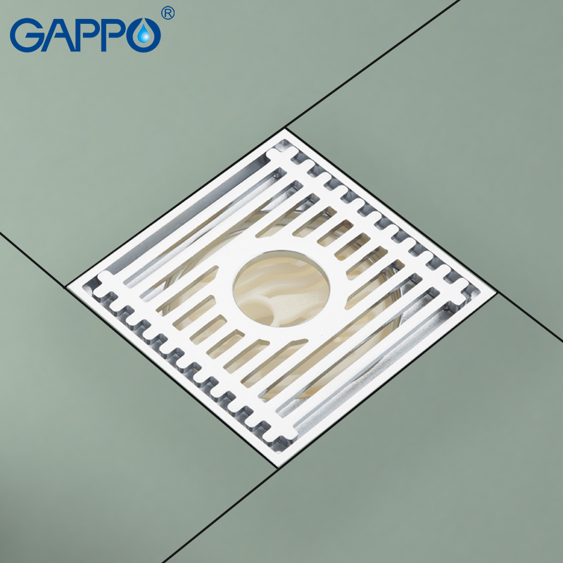 GAPPO Drains shower drain cover antique brass drains bathroom accessories overflow drain cover