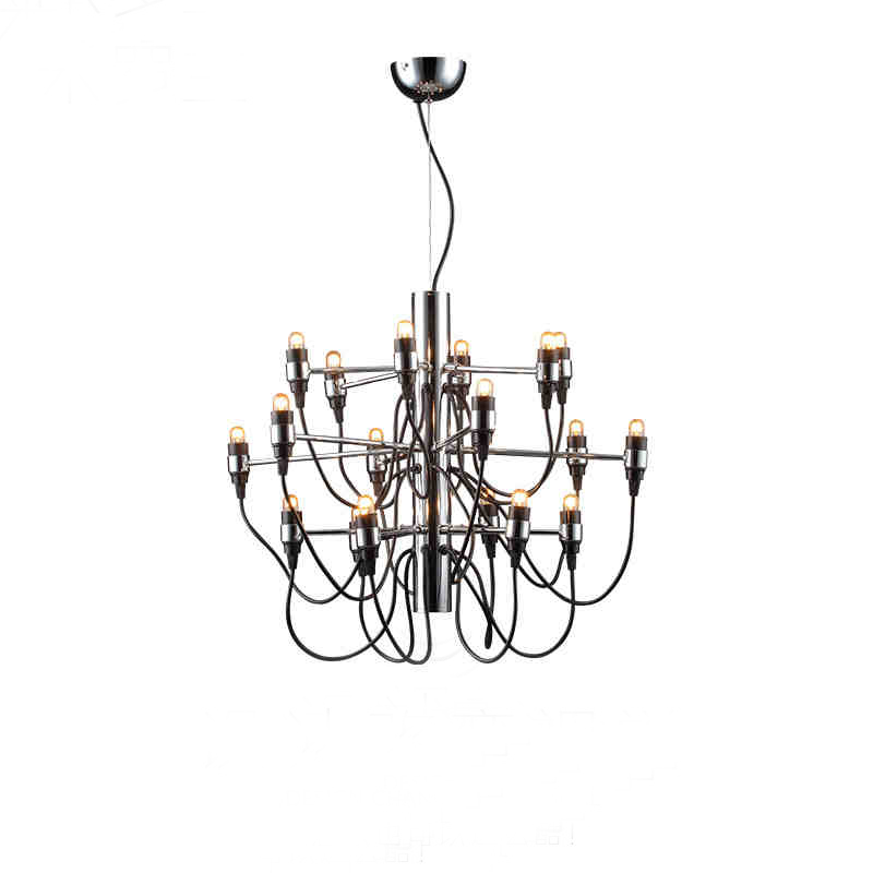 Best sale good quality Chandelier Gino Sarfatti 18/ 30/ 50 Heads Pendant Lamp Lights Lighting Fixtures Lluminaire best new product on sale 30