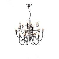 Best sale good quality Chandelier Gino Sarfatti 18/ 30/ 50 Heads Pendant Lamp Lights Lighting Fixtures Lluminaire