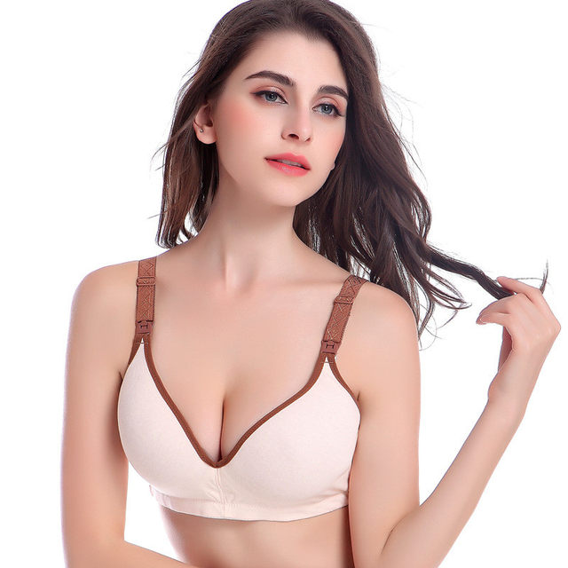 755b192f3d Online Shop 2018 New Pregnant Women Nursing Bras Cotton Pregnant ...
