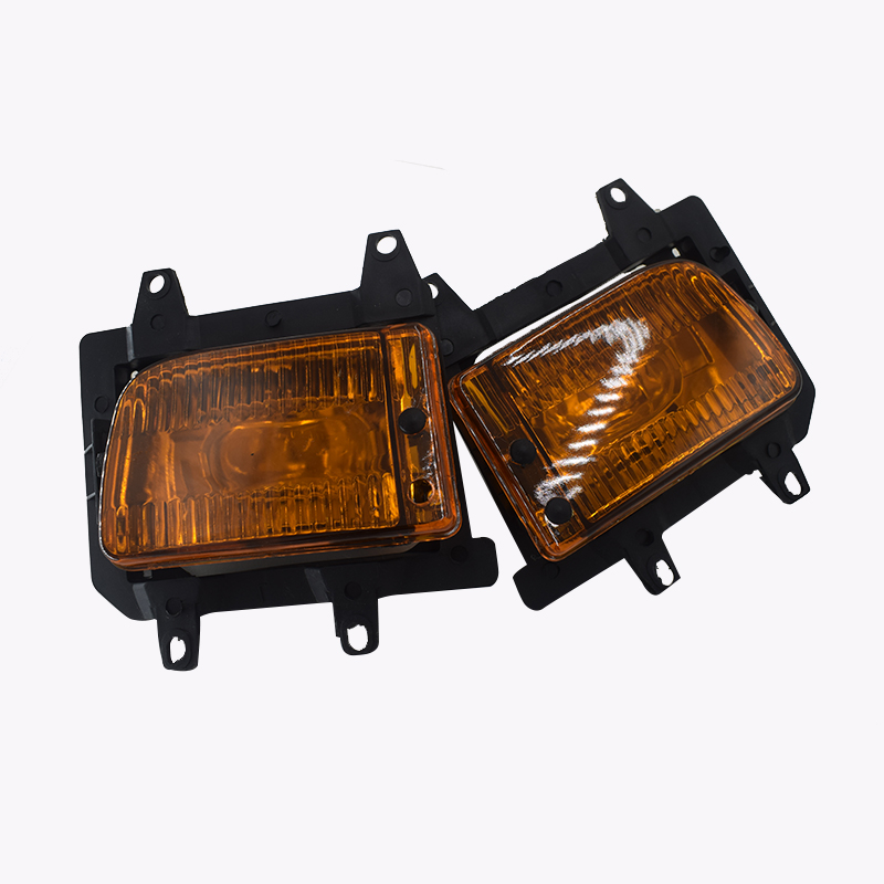 1 Pair Yellow Fog Light Shell Replacement Accessories For BMW E30 3-Series 85-93 318i 320i 325i Fog Lights Replacement