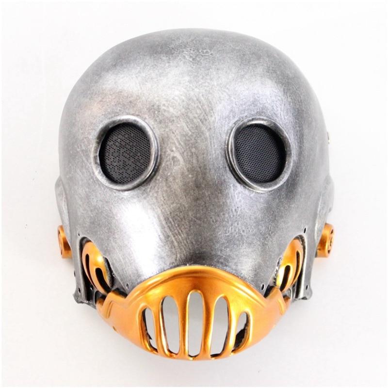 Halloween The Clockwork Man Kroenen Mask Resin Mask Horror Adult Masks Cosplay Party Masquerade Hellboy Movie Prop