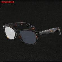 WEARKAPER フォトクロミック二焦点老眼鏡アセテートフレーム多機能リーダー老眼メガネ屋外釣りサングラス