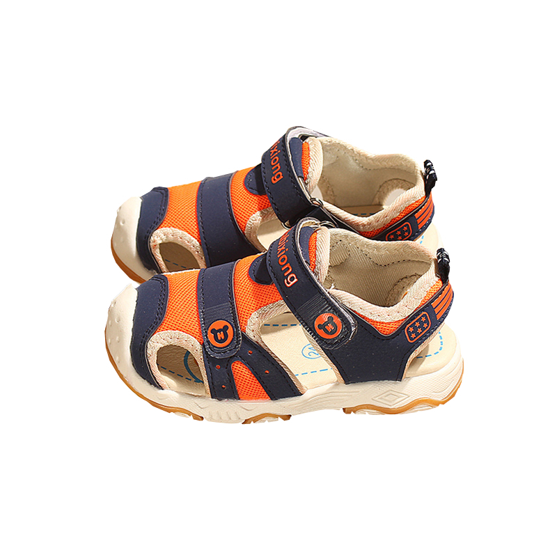 buy online wholesale online new arrival US $10.4 49% OFF|Kocotree Summer Beach Kids Shoes Baby sandals For Boys And  Girls Designer Toddler Sandals For 4 10 Years Old Kids Orange Blue-in ...