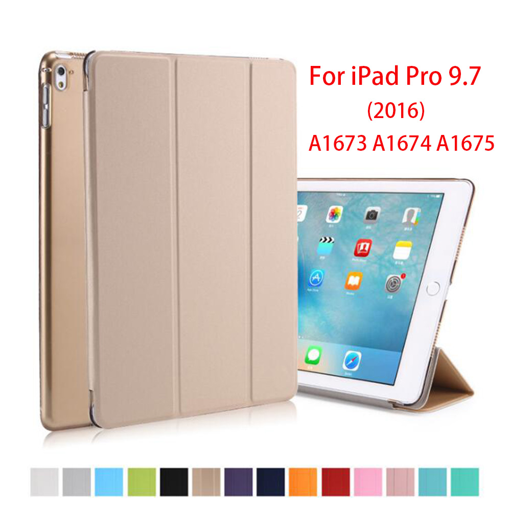 Rygou Case for Apple iPad Pro 9.7 2016 Release, Ultra Slim Pu Leather Smart Cover Magnet Wakt UP Sleep for iPad Pro 9.7 Case for apple ipad pro 10 5 case 2017 new pu leather slim smart cover w pencil holder wake sleep function for ipad pro 10 5 case