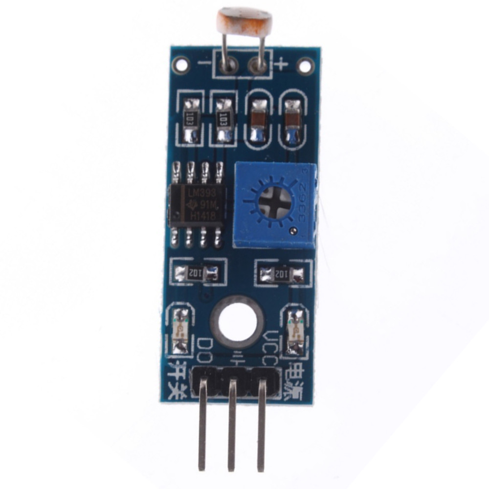 Lowered Photoresistor Ldr Sensor Module Detects Light Sensitive Circuit With Photodiode For Arduino