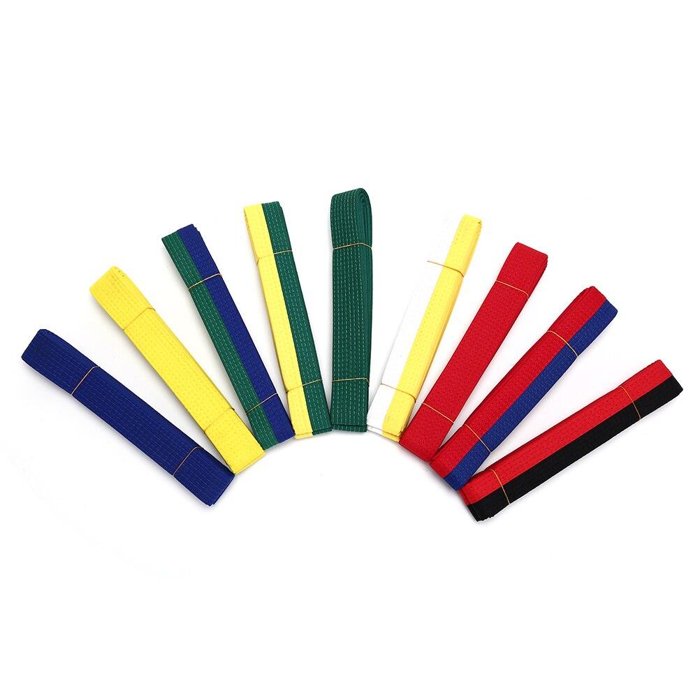 Taekwondo Belt Karate Double Wrap Belt Professional Martial Arts All Colors Hot