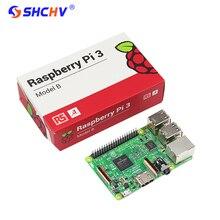 Cheaper UK Made Raspberry Pi 3 Model B 1GB 1.2GHz 64bit Quad-Core CPU WiFi & Bluetooth Raspberry Pi3 Board  RS Version Free Shipping