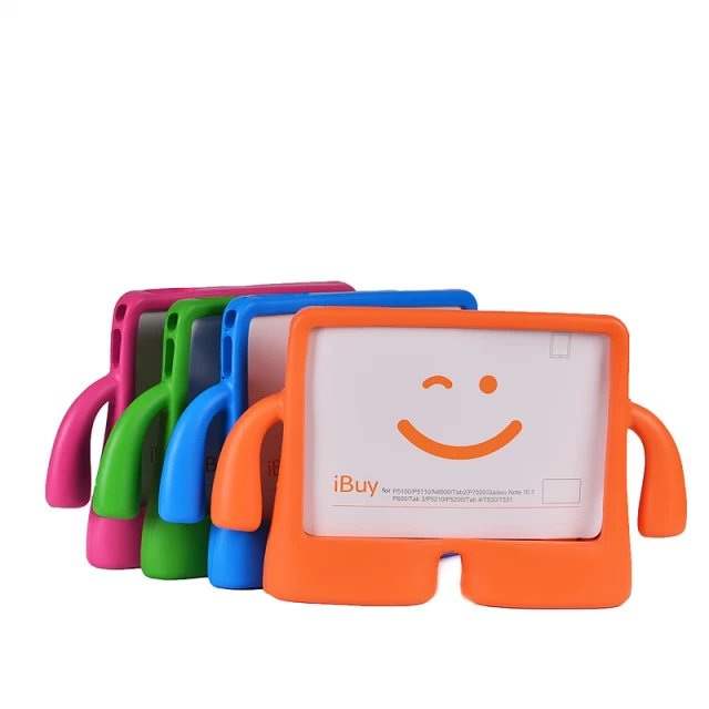 For Samsung Galaxy tab4 10.1 inch T530 T531 Tablet Children Kids Foam Back Case Stand Cover ShockProof case +Screen Film+Pen+OTG for samsung galaxy tab 4 10 1 t530 case tab 3 10 1 inch p5200 tablet kids foam back case handle stand cover shockproof