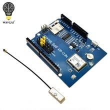 WAVGAT-Módulo de placa de expansión, NEO-6M, GPS Logger Shield, SPI UART con ranura para tarjeta SD para Arduino UNO R3 ONE