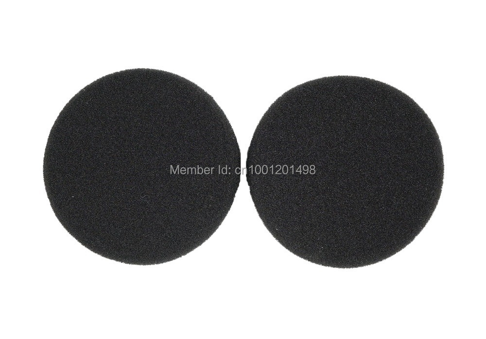 2 par Byt ut öronhållarens kudde för Sennheiser PX90 PX95 AKG K420 K420P hörlurar 58mm öronplattor