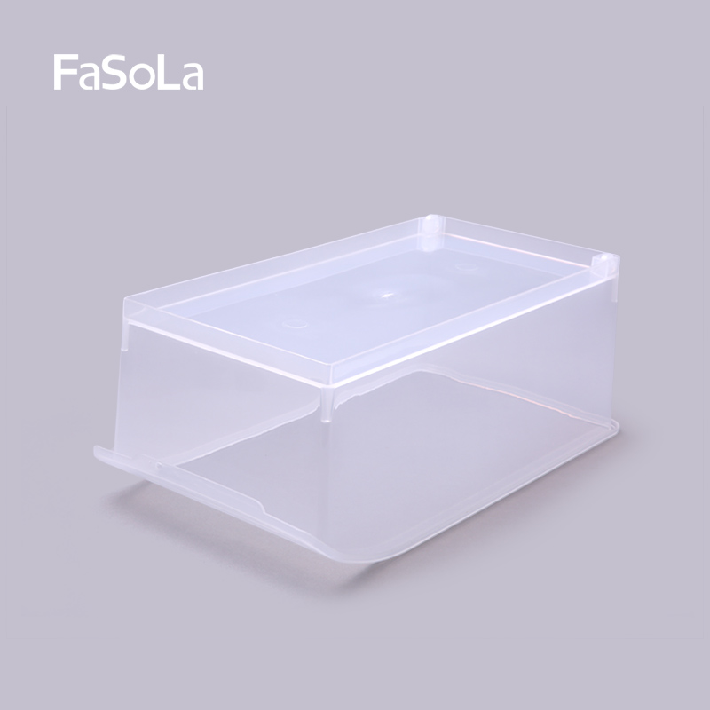 FaSoLa Kitchen Food Storage Box Refrigerator Food Finishing Box Plastic sorting box Storage basket