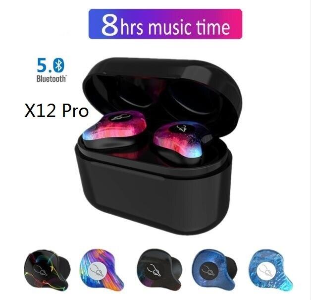 X12 Pro 5.0 Bluetooth écouteur sans fil casque IPX5 sport jeu casque isolation du bruit écouteurs freebud airdots pour xiaomi