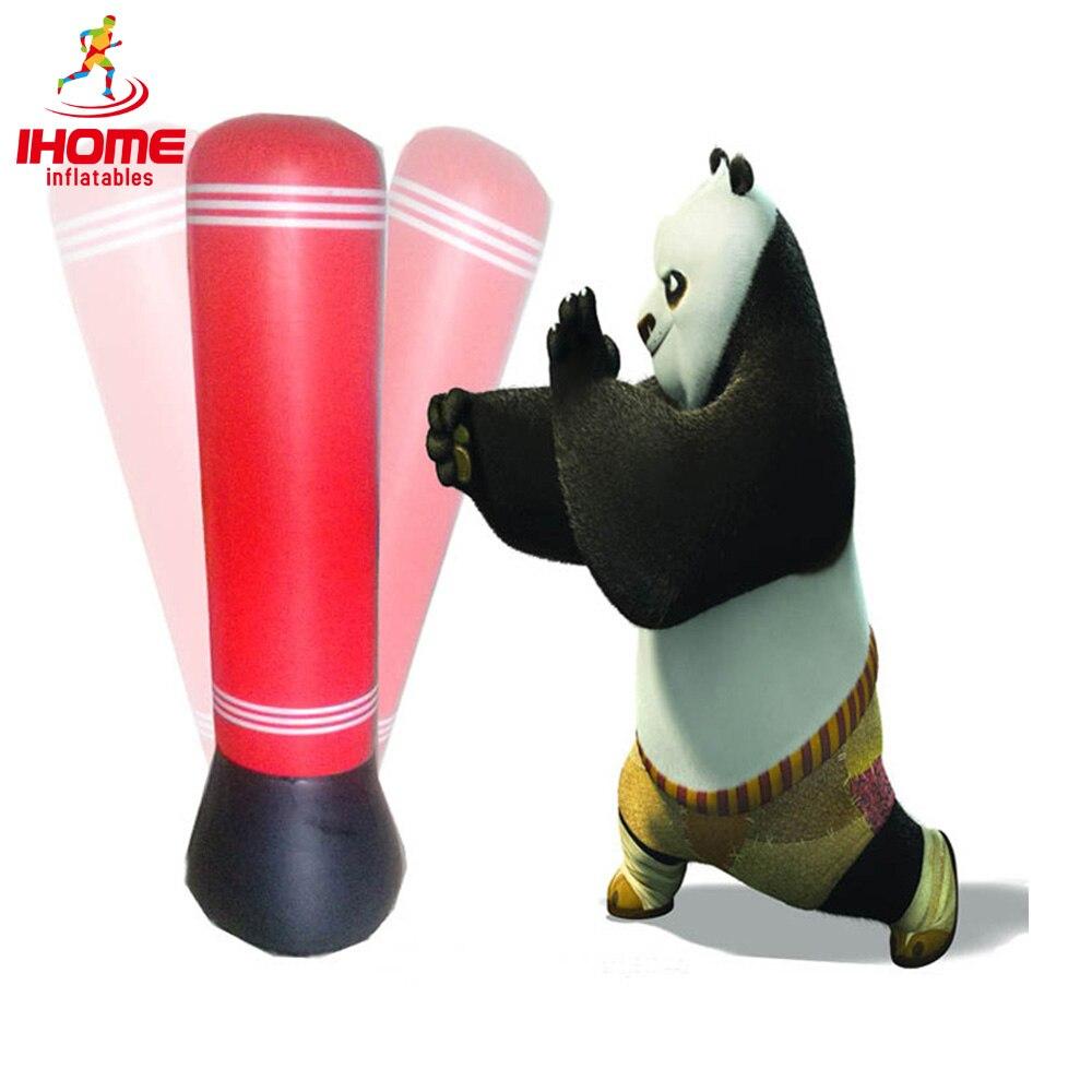 1.5M Inflatable Training boxing Tumbler Sand bag Kongfu Panda Punching Bag