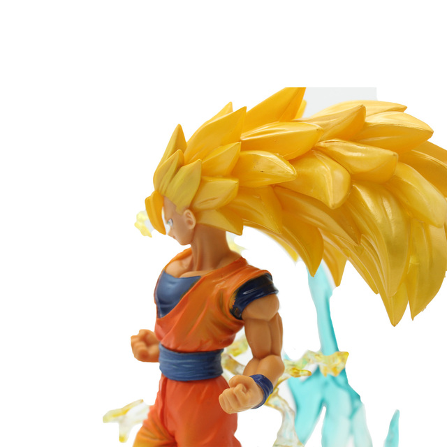 Chanycore 18cm japanese anime dragon ball z super saiyan 3 son goku chanycore 18cm japanese anime dragon ball z super saiyan 3 son goku gohan vegeta kakarotto action thecheapjerseys Gallery