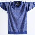 Новый рубашки поло, мужчина, мужчины из чистого хлопка трикотажные с длинным рукавом бесплатная доставка, плюс размер круглый воротник поло