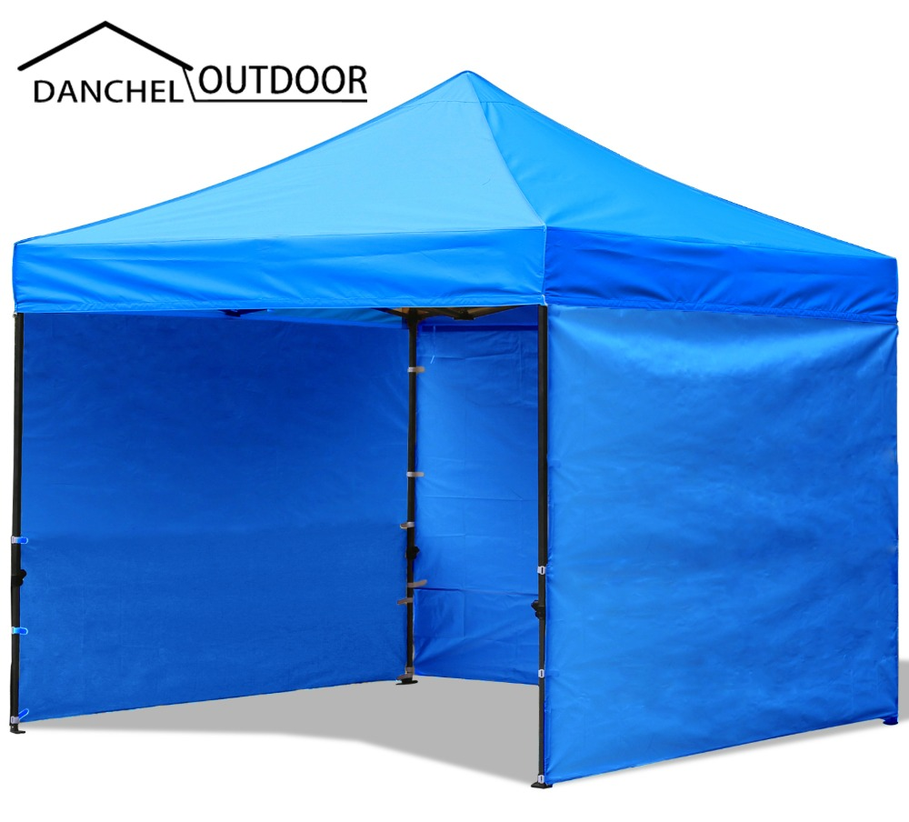 DANCHEL 2X2 Meters 6x6 Feet Commercial Folding Tent with Three Wall Portable Event Canopy Tent, Can be Custom tent