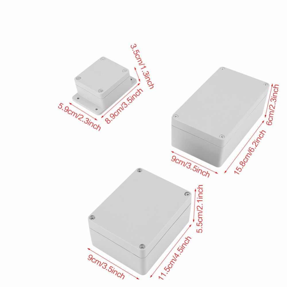 Nước-chống IP65/IP66 ABS Thiết Bị Đầu Cuối Điện Dự Án Hệ Thống Dây Điện Nối Kết Nối Hộp Ngoài Trời Không Thấm Nước Bao Vây Trường Hợp
