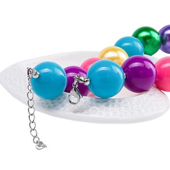 Unicorn Bubblegum Bead Necklace