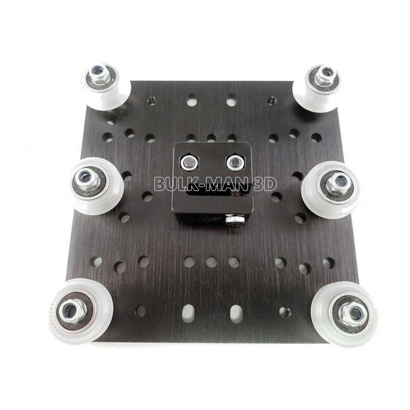 10Sets/Lot Poly Carbonate Strong Solid V Wheel Kit For Openbuilds V-Slot Rail,OX CNC,V Slot Linear Rail System