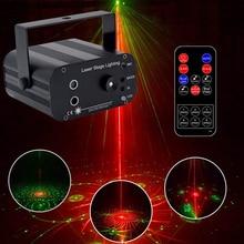 3 Lens 48 Patterns Full Sky Star Christmas Laser Projector Lamp DJ Disco Xmas Party Club Strobe Light LED Stage Effect Light цена в Москве и Питере