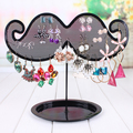 Earring holder stud earring storage rack accessories jewelry mustache holder display rack accessories rack plaid pavans