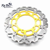 FX Motorcycle 320mm Floating Front Brake Disc Rotor For Yamaha YZF R1 XJ600 N TDM 900CC