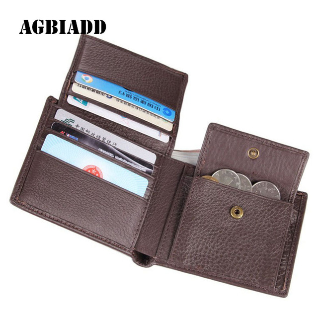 AGBIADD Wallets Men More Card Holder Slots