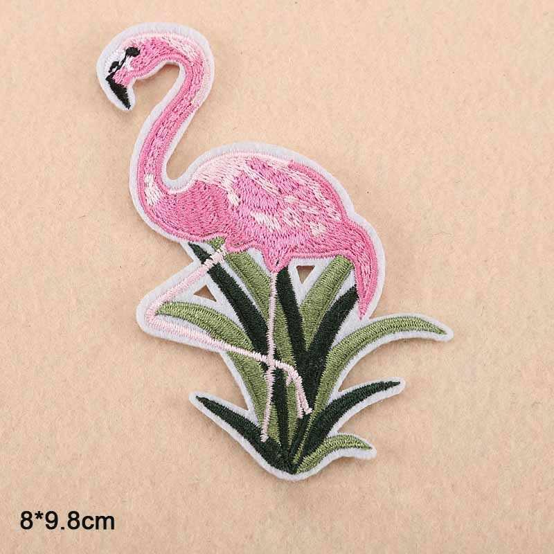 Kreeft Mermaid Flamingo Groothandel Ijzer op Geborduurde Doek Kleding Patch Voor Kleding Meisjes Jongens Vrouw