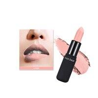 Maquiagem Makeup Matte Lipstick Waterproof Long Lasting Lip Gloss Moisturizer Lips Stick Beauty Makeup Cosmetics