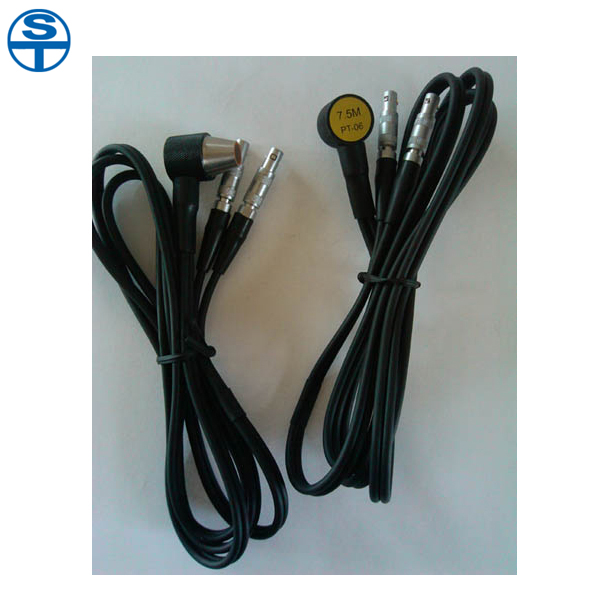 PT-06 Probe Transducer for Ultrasonic Thickness Gauge 5mhz 10mm probe transducer for ultrasonic thickness gauge