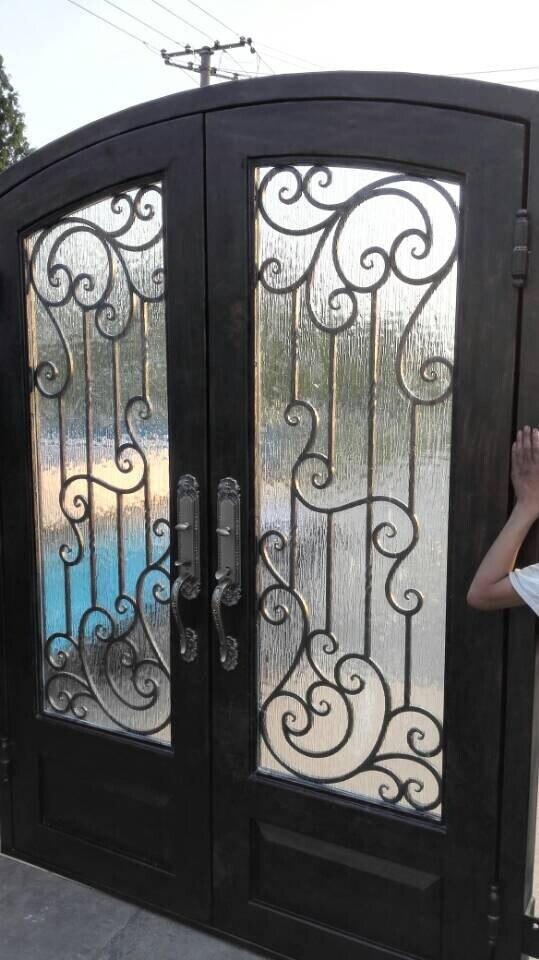 Metal Glass Double Doors popular glass entry doors-buy cheap glass entry doors lots from