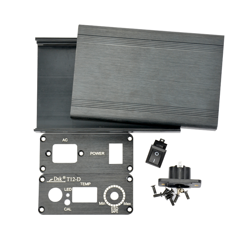 YIMAKER T12 Cyfrowa obudowa lutownicy Aluminiowa obudowa z - Sprzęt spawalniczy - Zdjęcie 4