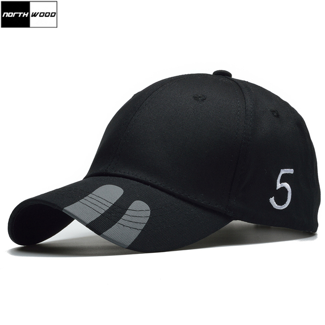 NORTHWOOD  gorra de béisbol Negro hombres moda Snapback sombrero para las mujeres  Casual Hip 19e8c41f9d1