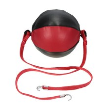 Boxing Ball Double End Punching Speed Striking Solid Leather Sporting MMA Training Gear Gym fitness