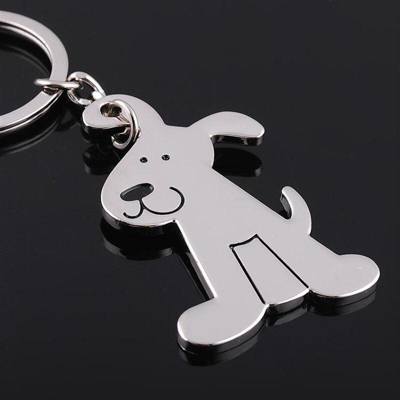Ev ve Bahçe'ten Parti Armağanları'de (50 adet/grup) Promosyon Hediye Metal Köpek Kedi Anahtarlık Moda Hayvan Anahtarlık Kişiselleştirilmiş Kazınmış Araba Anahtarlık KC025'da  Grup 1