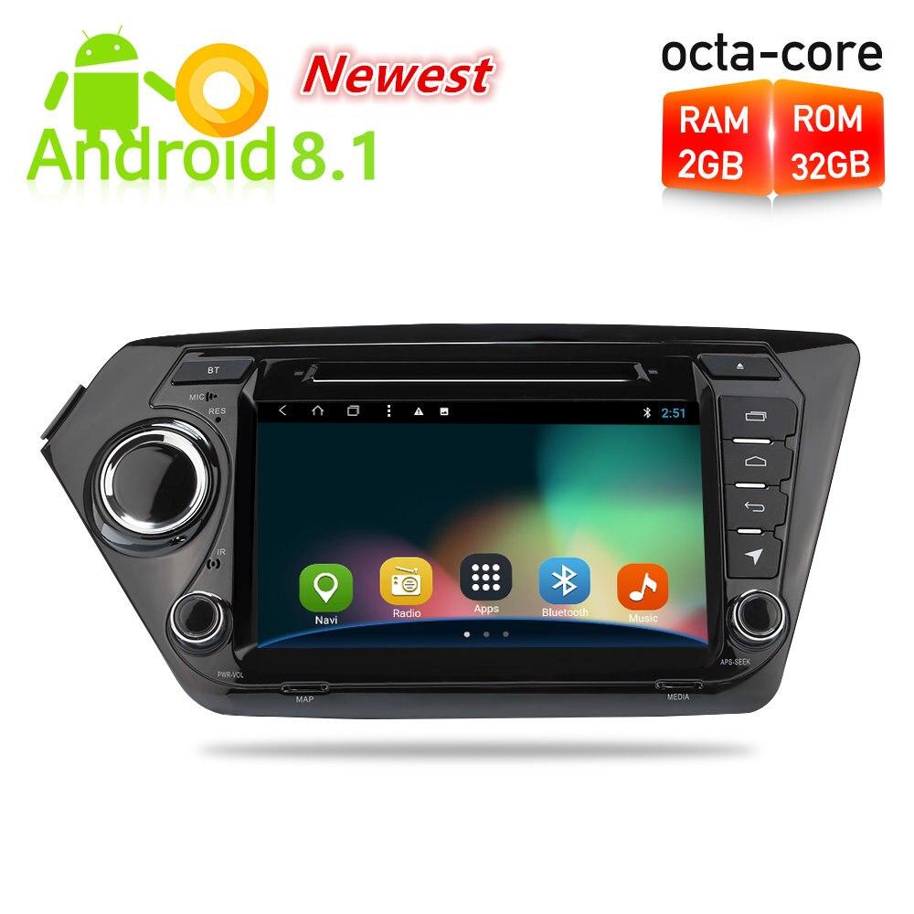 8 Android 8.1 Car Radio GPS Navigation DVD Multimedia Player For Kia Rio K2 2010 2011 2012 2013 2014 2015 Auto Stereo Headunit jdaston 2 din android 6 0 car dvd player for kia k2 rio 2010 2011 2012 2013 2015 car multimedia video audio gps navigation radio