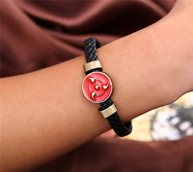 Naruto Weave leather bracelet & Bangle