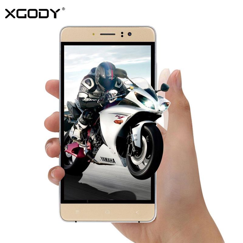 bilder für XGODY D15 Smartphone 5,5 ''RAM 768 MB ROM 8 GB Quad Core Android 5.1.1 2SIM Telefone Celular 3G Touch Android Handys