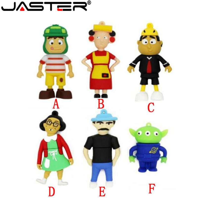 JASTER Cartoon Toy Story Series USB Flash Drives 4GB 8GB 16GB 32GB 64GB Thumbdrive Pendrive Memory Stick Flash Disk