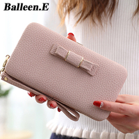 Balleen E General Phone Bags For IPhone 7 For Samsung Luxury Fashion Sweet Style Bow Knot