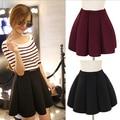 High Waist Tutu Women Skirt Black Space Cotton Pleated Vintage Brand Design Plus Size Mini Winter Ladies MF798562