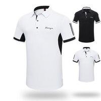 Summer Men tshirt 2019 Golf Clothing Men's Short Sleeve T Shirt Lapel Polo Shirt Sports Clothes Team